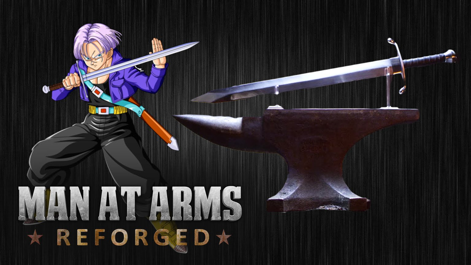 Espada de Trunks recriada na vida real