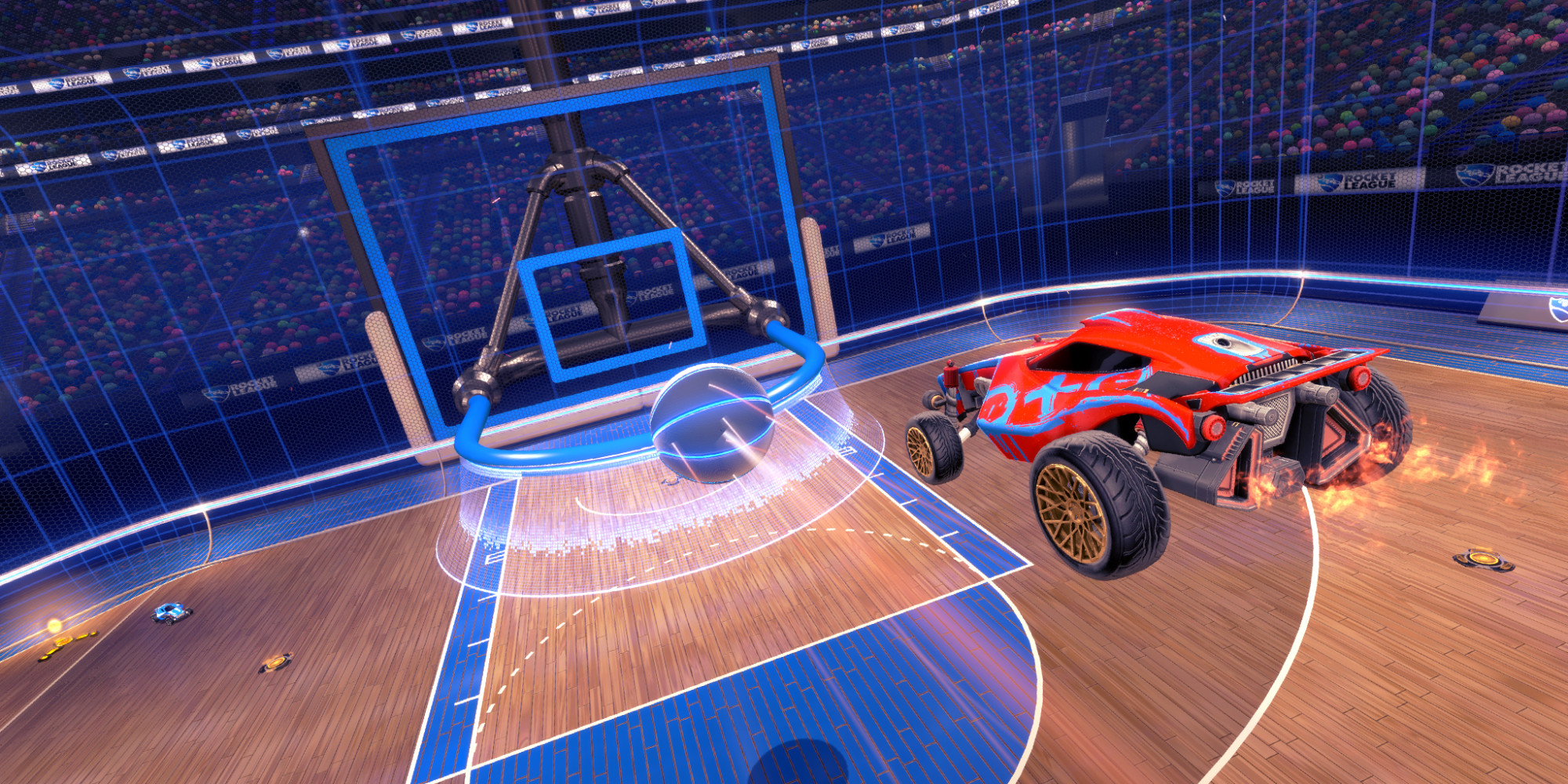 Rocket League - Big Hoops