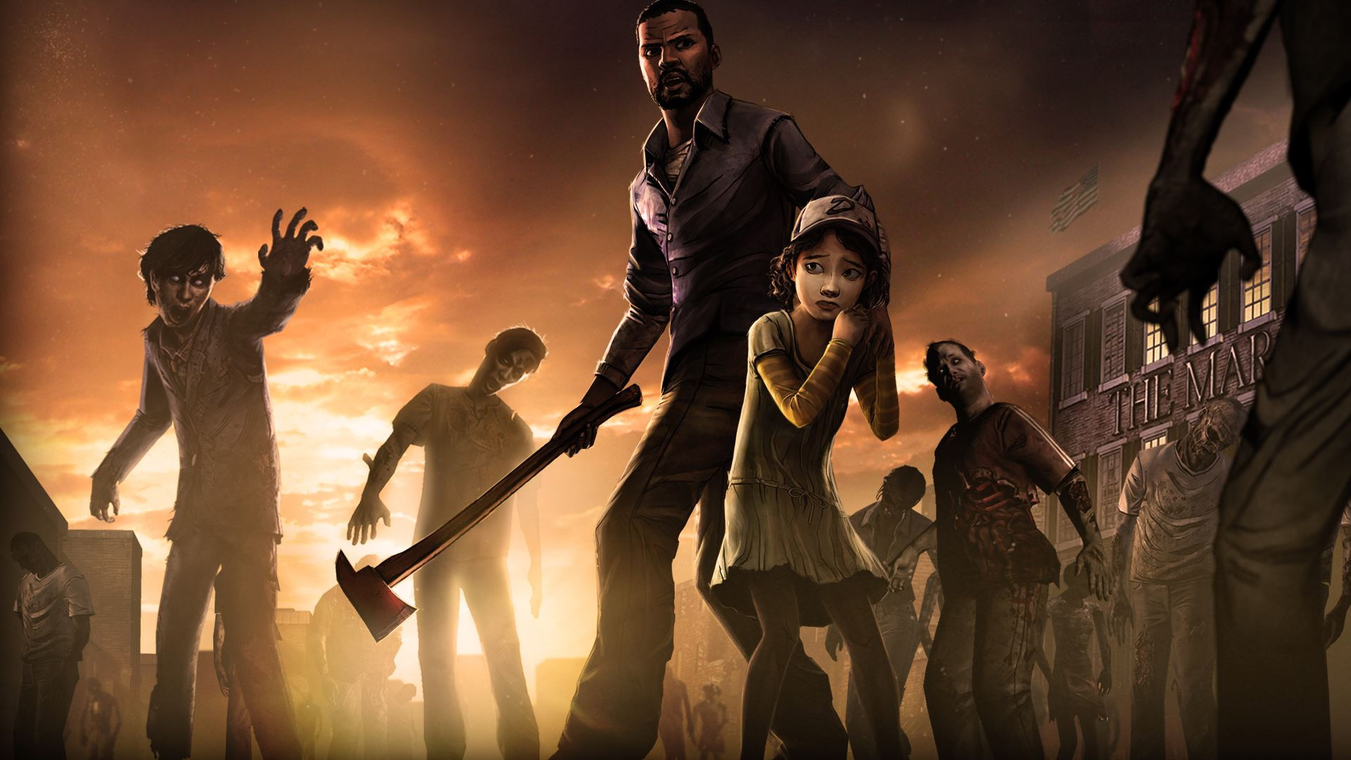 The Walking Dead - KeyArt Render