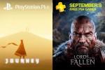Jogos da PS Plus de setembro incluem Journey e Lords of the Fallen