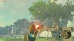 Link em ação com seu arco e flecha em novo vídeo para The Legend of Zelda: Breath of the Wild