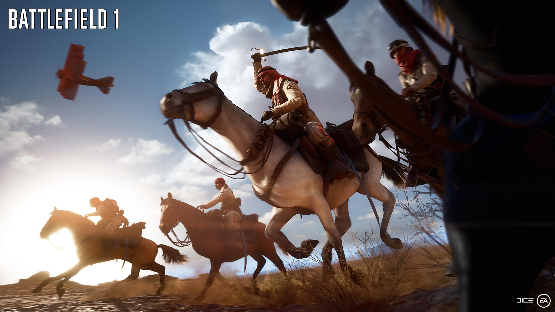 Battlefield 1 - Horses