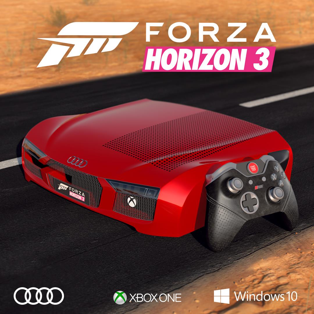 Forza Horizon 3 - Xbox One S Audi R8 Edition