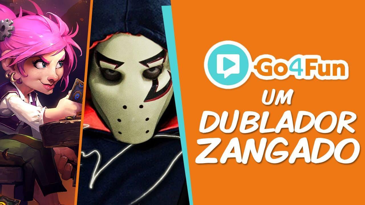 Zangado Dublador - Go4gold Imagem
