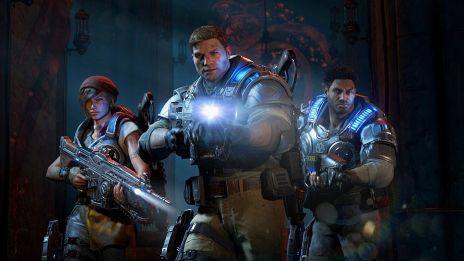 Gears of War 4 - Personagens
