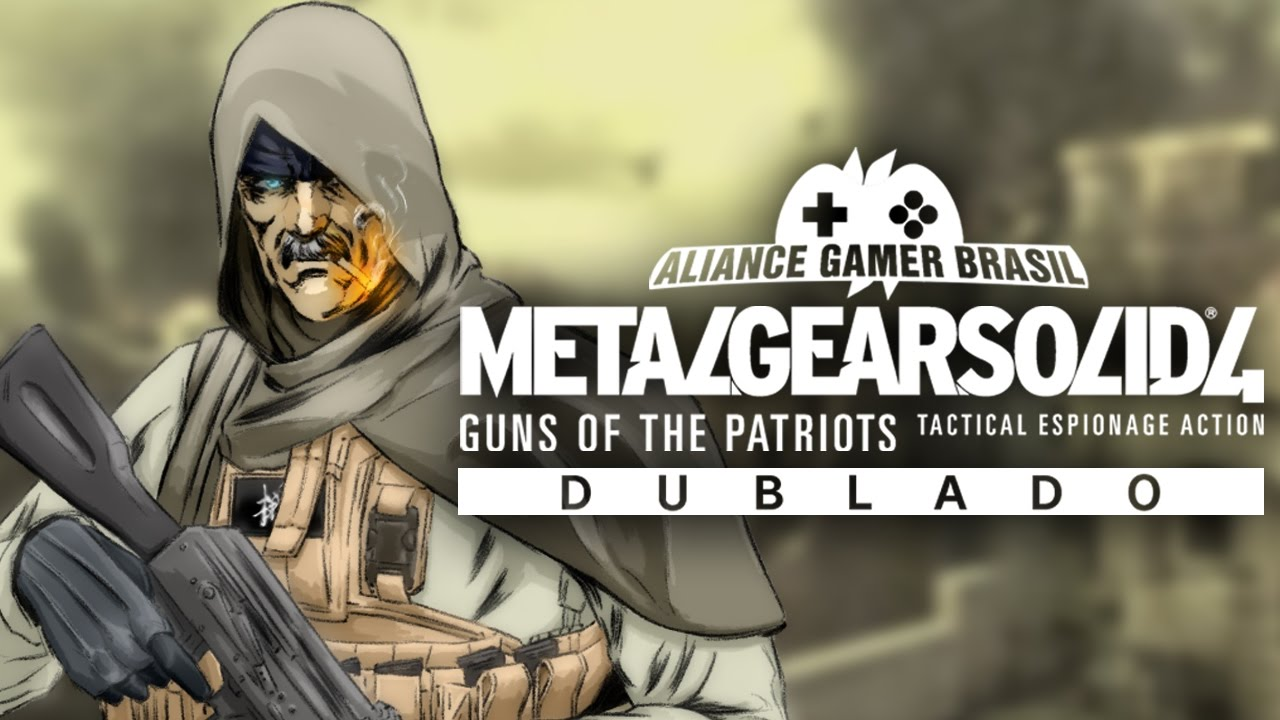 Metal Gear Solid - KeyArt Dublado