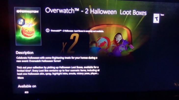 Overwatch - Halloween Loot Box 01