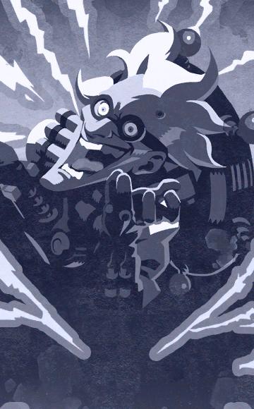 Overwatch - Junkrat Halloween