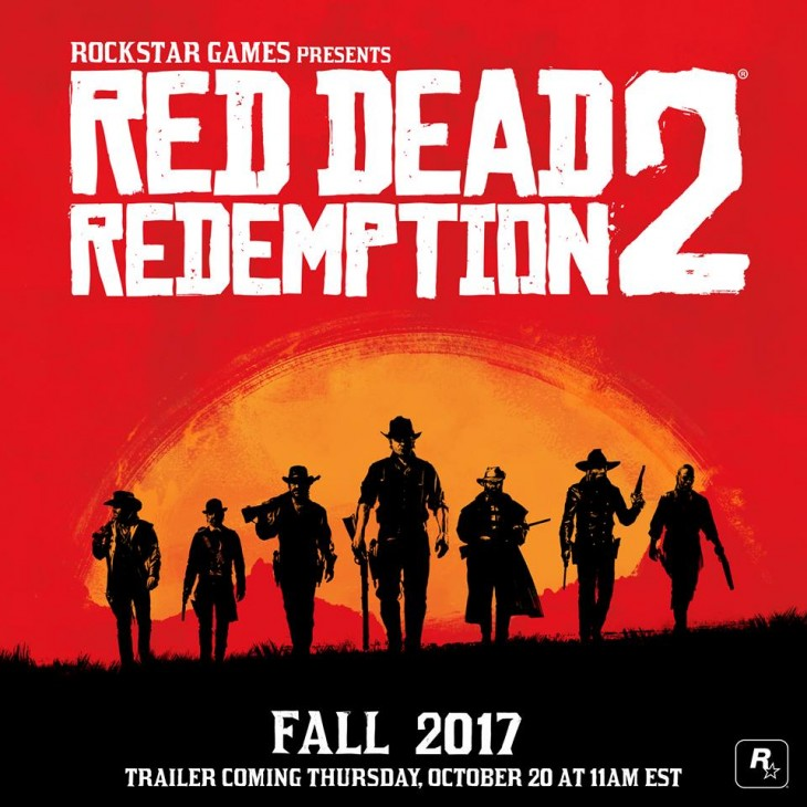 Red Dead Redemption 2 - Banner Oficial Facebook