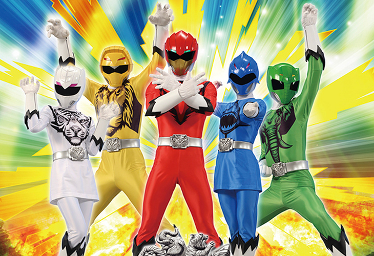 Super Sentai - Imagem