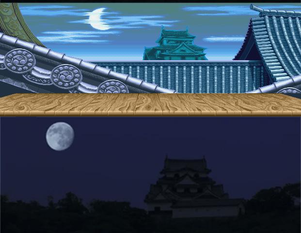 Cenários Street Fighter