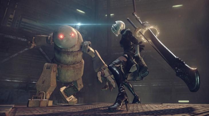 NieR: Automata foi originalmente feito para sair exclusivamente para PC