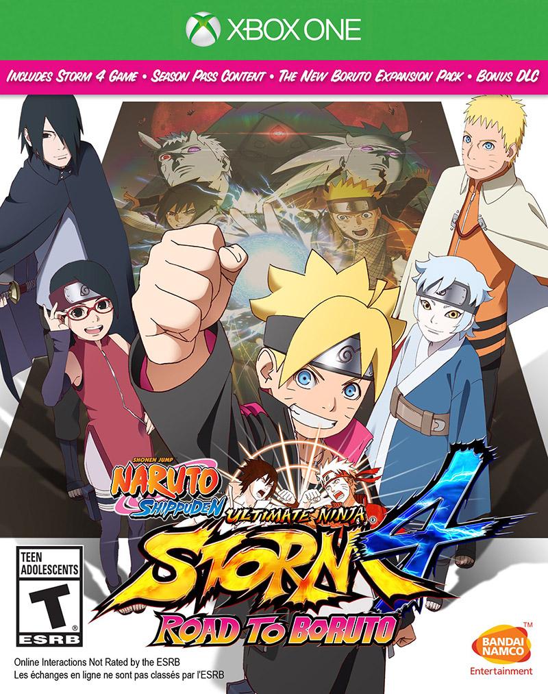 Naruto Shippuden: UNS 4 Road to Boruto terá edição em disco