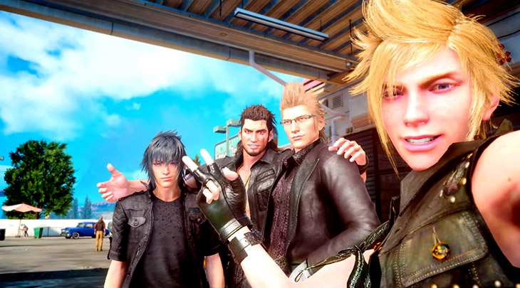 Square Enix está tentando trazer Final Fantasy XV para Switch