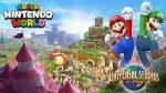 Veja a primeira imagem do parque temático da Nintendo na Universal
