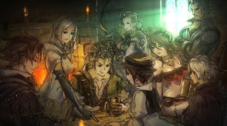 Square Enix avisa que Octopath Traveler está em falta no Japão