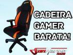 Unboxing / Montagem - Cadeira Gamer Barata - Cadeira SM Race