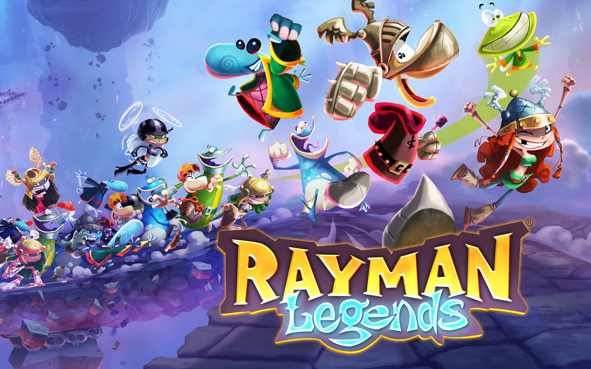 Rayman Legends - KeyArt