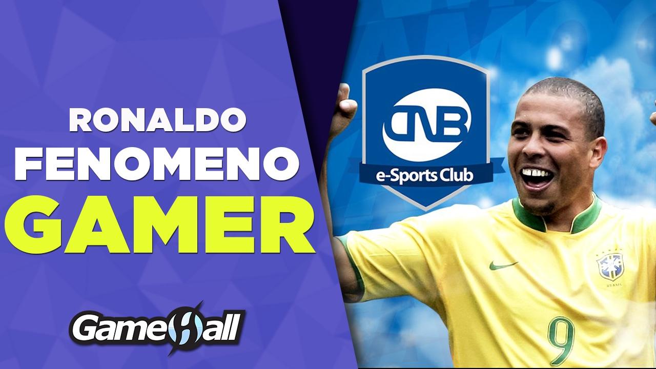 Ronaldo Fenômeno gamer