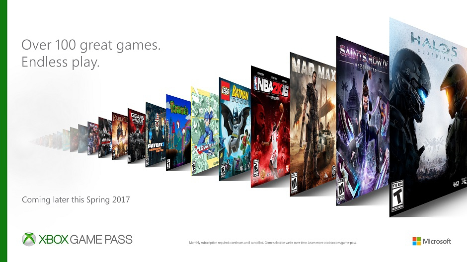 Xbox Game Pass - Banner