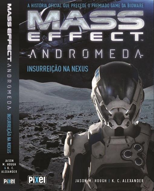 Capa Mass Effect Andromeda - Inssurreição na Nexus