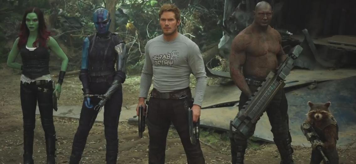 Guardiões da Galáxia 2 - Imagem do Trailer