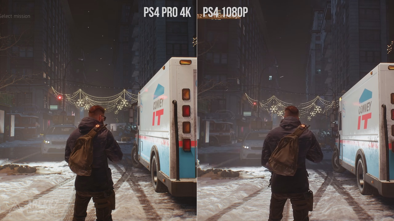 The Division - PS4 vs PRO