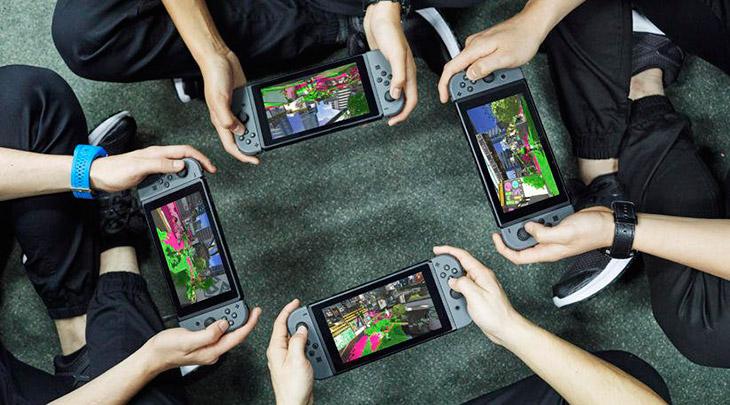 Switch foi o console mais vendido nos EUA em agosto
