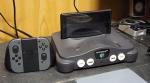 Sujeito transforma Nintendo 64 em uma base para o Switch