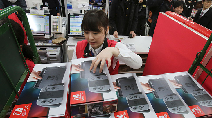 Nintendo não dará desconto no Switch durante a Black Friday