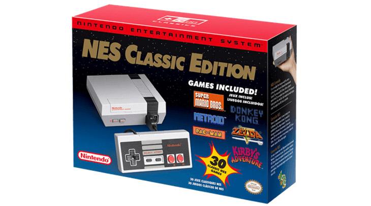 Nintendo trará NES Classic Edition de volta em 2018