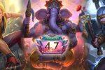 Ganesha, o Deus do Sucesso já está disponível em Smite