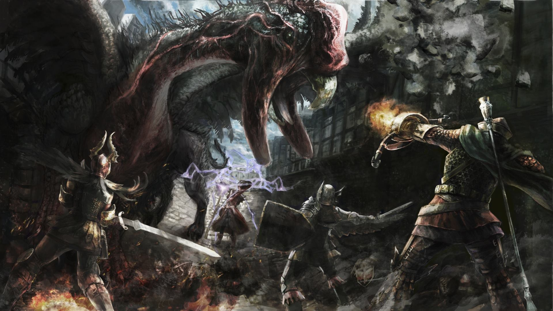 Dragons Dogma Dark Arisen - KeyArt