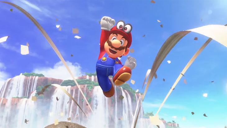 Super Mario Odyssey vendeu 2 milhões de cópias em três dias