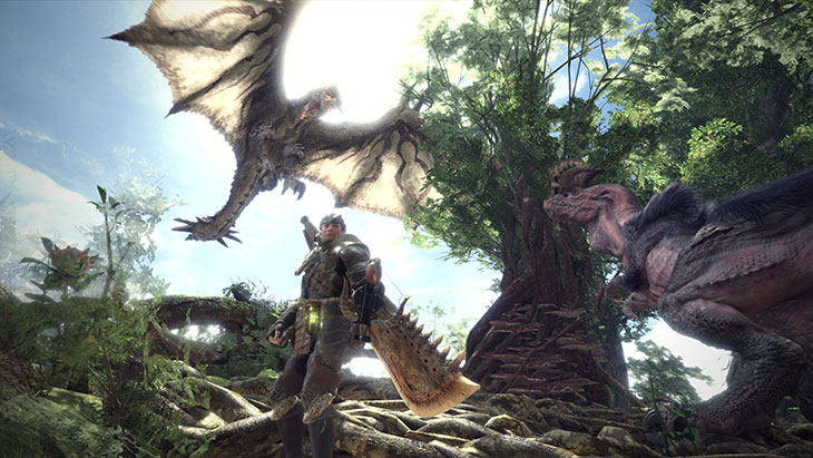 Monster Hunter: World e Dragon Ball foram os mais vendidos da semana no Reino Unido