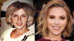 Scarlett Johansson leva avó que se parece com ela para estreia de seu novo filme
