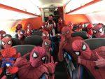 Companhia aérea japonesa só aceita passageiros vestidos como Homem-Aranha em voo especial