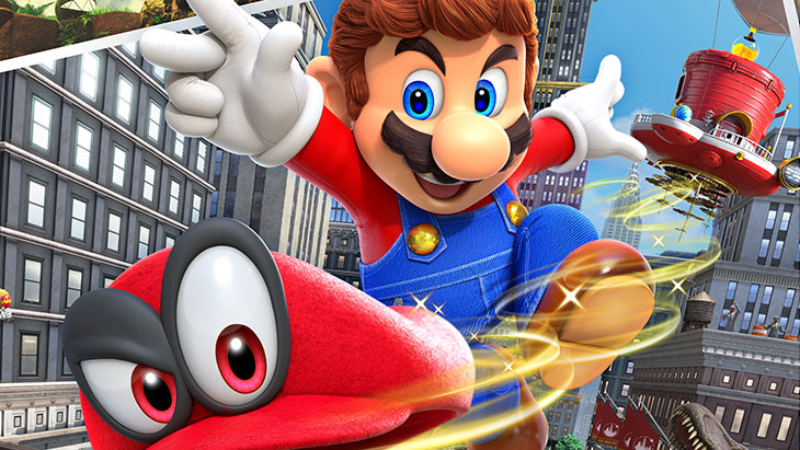 Super Mario Odyssey é o primeiro jogo da série principal a não ter classificação etária livre