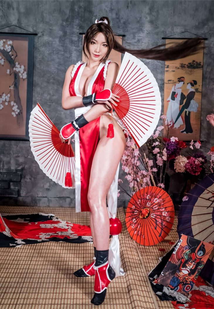 Cosplay da Mai Shiranui - 07