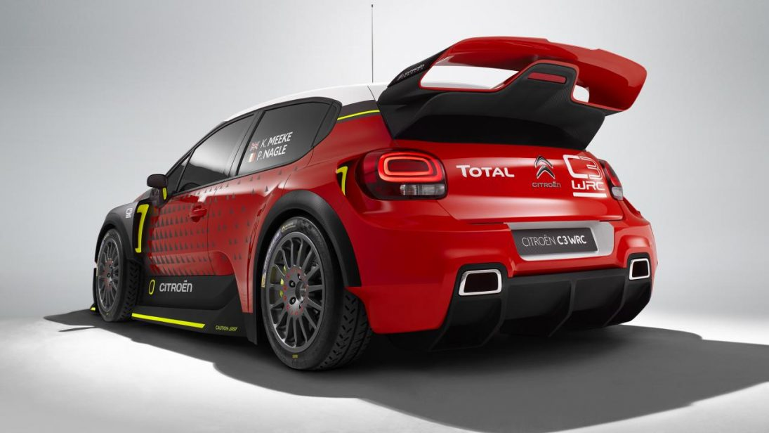 Citroën C3 Rally de WRC7 é revelado em vídeo de gameplay