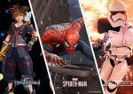 Evento neste fim de semana trará novidades sobre Spider-Man para PS4, Kingdom Hearts III e Battlefront II