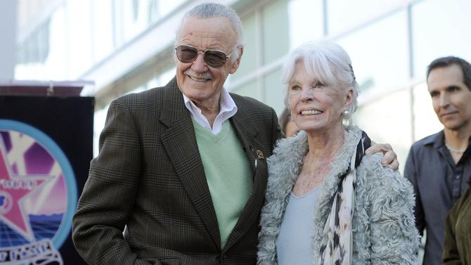 Esposa de Stan Lee morre aos 95 anos