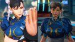 Capcom melhorará o visual esquisito de Chun-Li em Marvel vs. Capcom Infinite