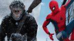 """Novo """"Planeta dos Macacos: A Guerra"""" destrona Homem-Aranha do topo das bilheterias nos EUA"""
