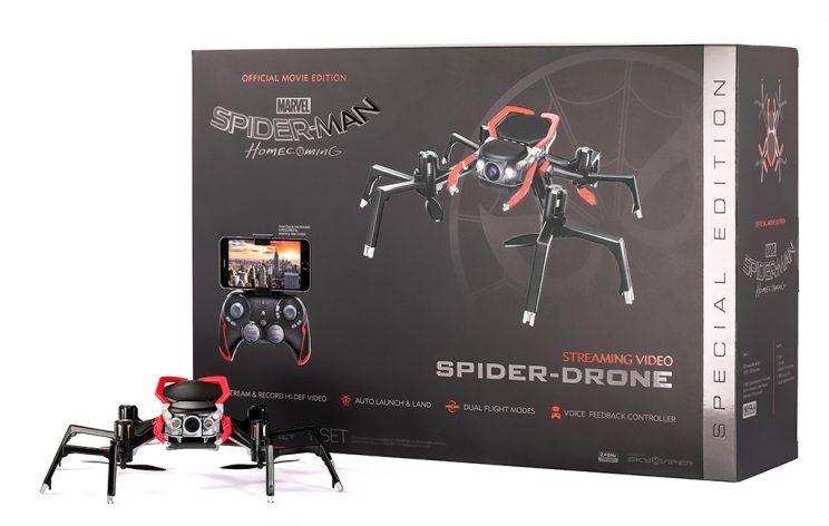 Homem-Aranha: De Volta ao Lar - Empresa lança Drone-Aranha de verdade