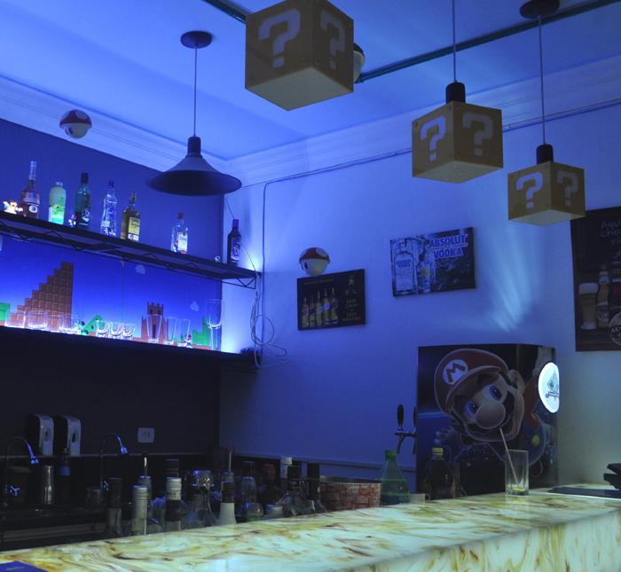 Curitiba inaugura bar temático inspirado em 'Super Mario Bros'