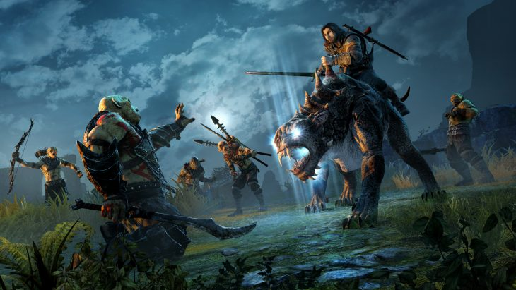 Middle Earth - Shadow of Mordor - Screenshot 02 - Montaria