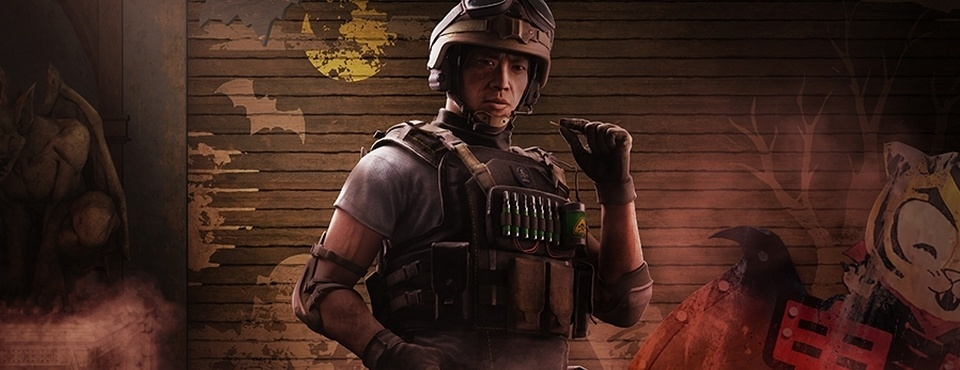 Novo Operador do Rainbow Six - Lesion