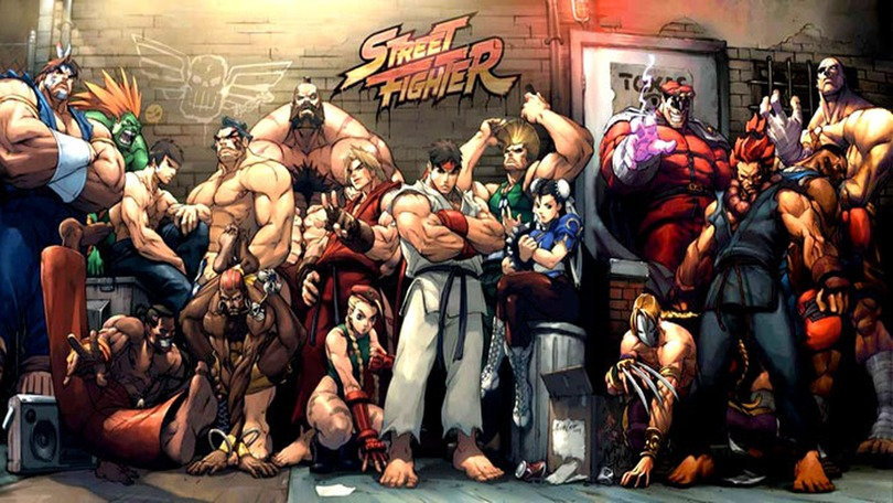 Street Fighter - Personagens