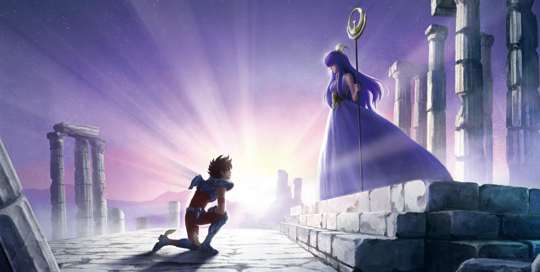 'Os Cavaleiros do Zodíaco' anuncia série exclusiva na Netflix